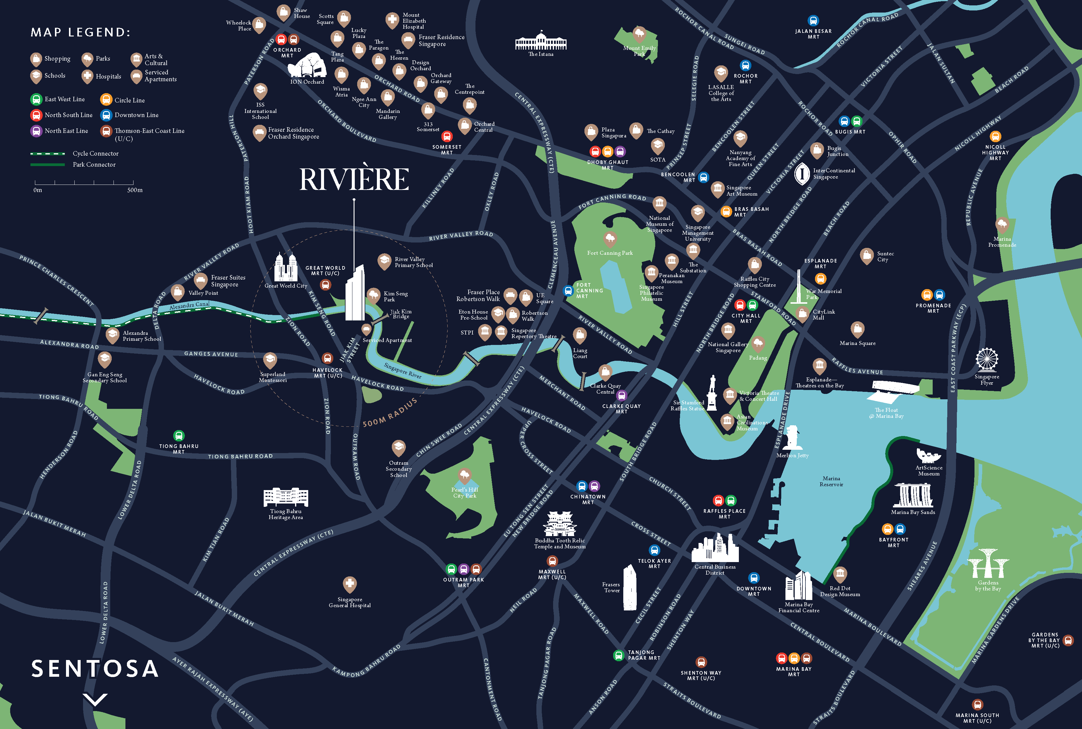 Riviere_BROCHURE_LOCATION MAP